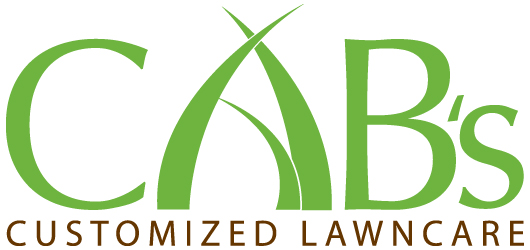CABs Customized Lawncare Logo