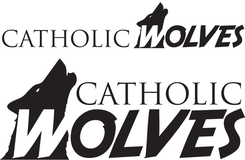 Catholic Wolves Logo