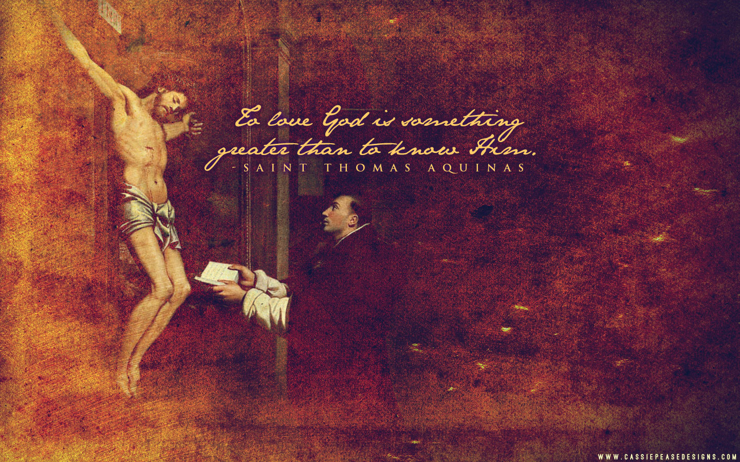 St. Thomas Aquinas Desktop Wallpaper
