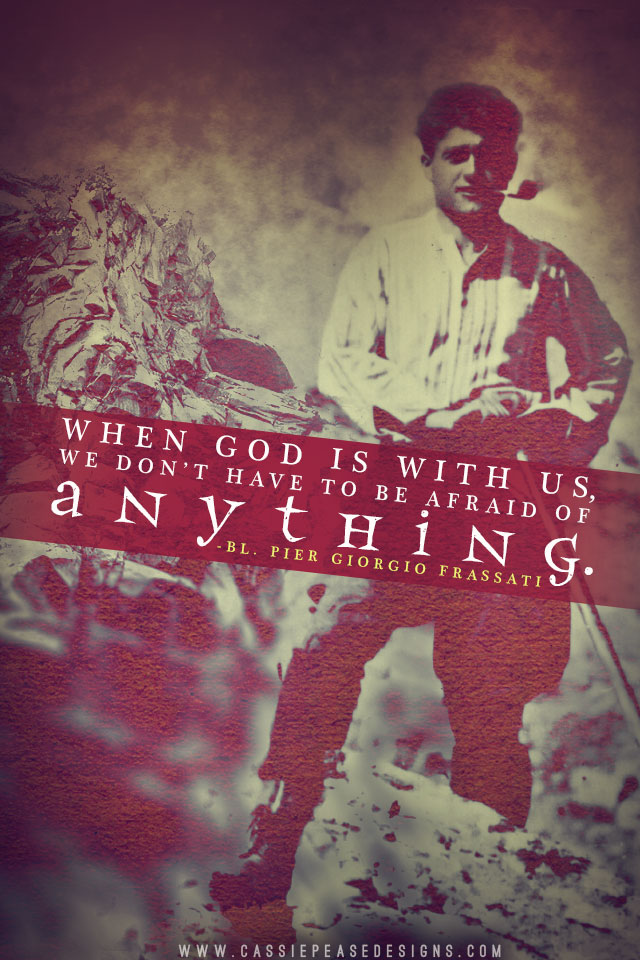 Bl. Pier Giorgio Frassati (red) Mobile Wallpaper
