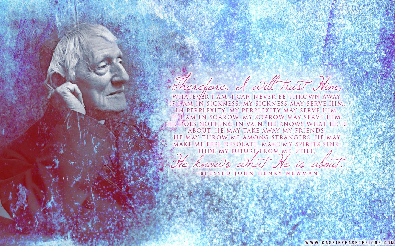 Bl. Newman Desktop Wallpaper