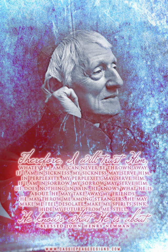 Bl. Newman Mobile Wallpaper