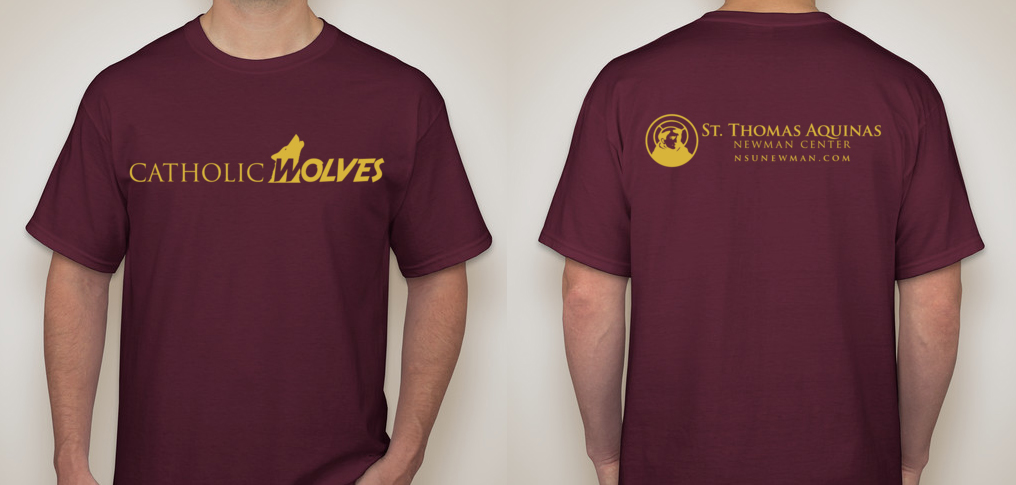 Catholic Wolves Shirt Design