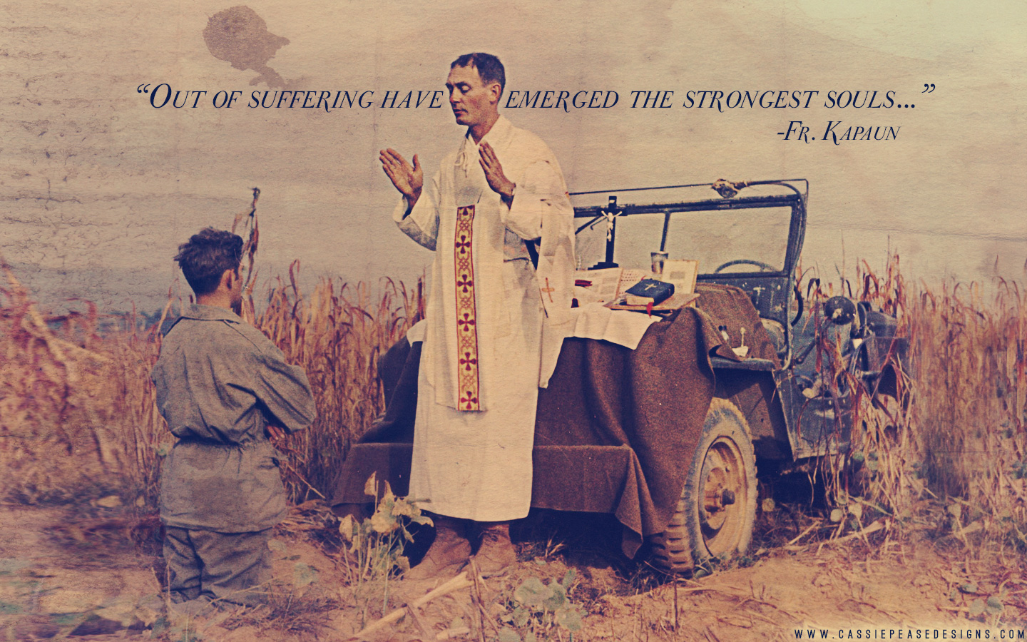 Fr. Kapaun Desktop Wallpaper