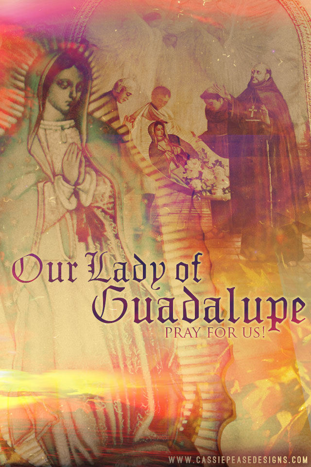 Our Lady of Guadalupe Mobile Wallpaper