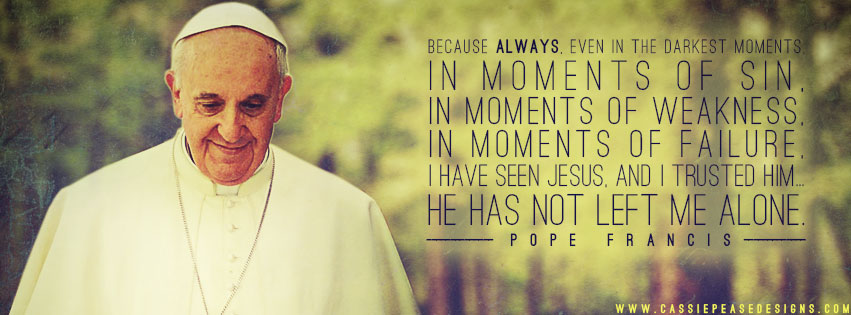 Pope Francis (green) Coverphoto