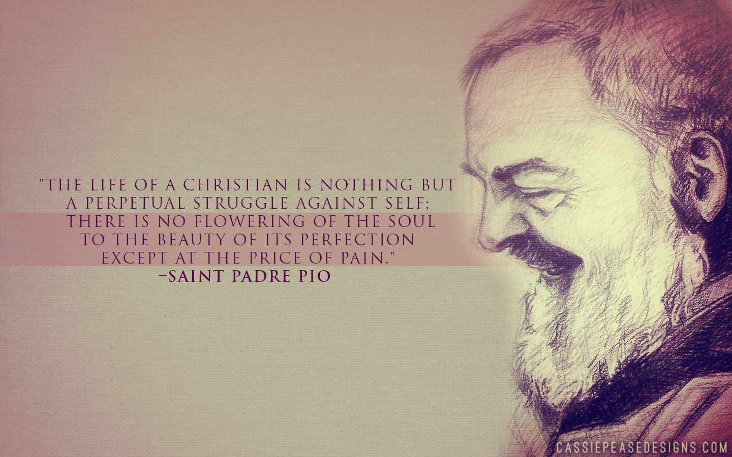 St. Padre Pio Desktop Wallpaper