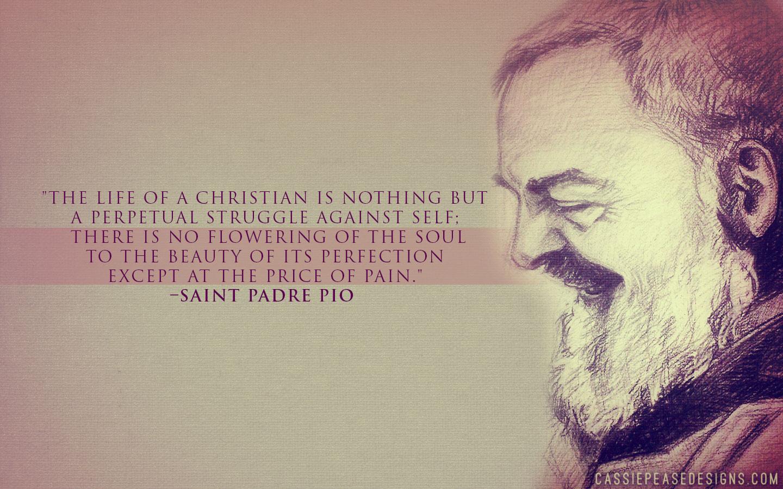 St Padre Pio Desktop Wallpaper