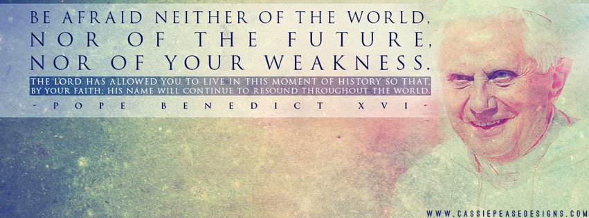 "Pope Benedict XVI ""Weakness"" Coverphoto"