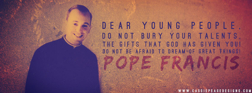 Young Pope Francis Coverphoto