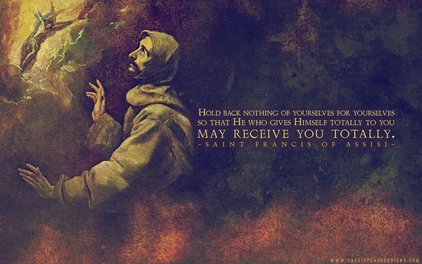Saint Francis Desktop Wallpaper