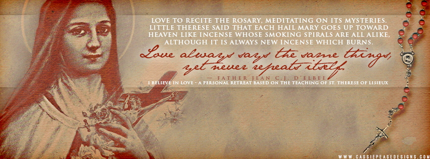 "St. Therese ""Rosary"" Coverphoto"