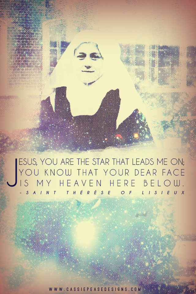 "St. Therese ""Star"" Mobile Wallpaper"