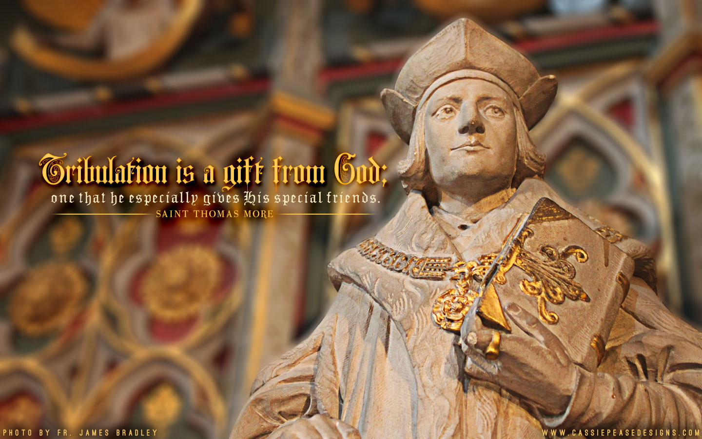 St. Thomas More Desktop Wallpaper