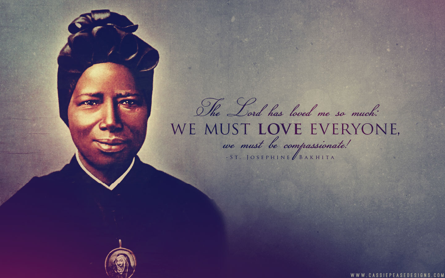St. Josephine Bakhita Desktop Wallpaper