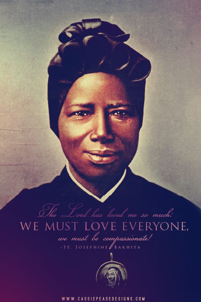 St. Josephine Bakhita Mobile Wallpaper