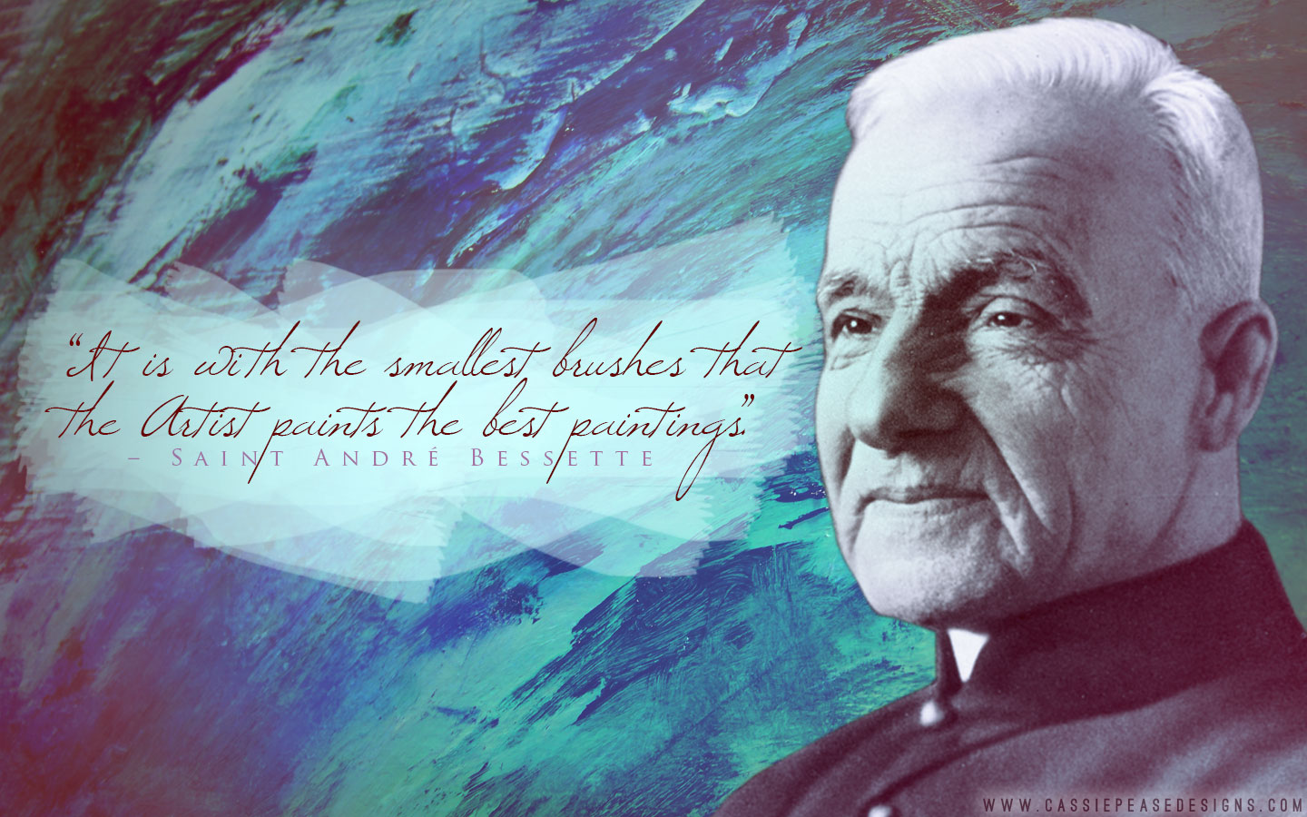 St. André Bessette Desktop Wallpaper