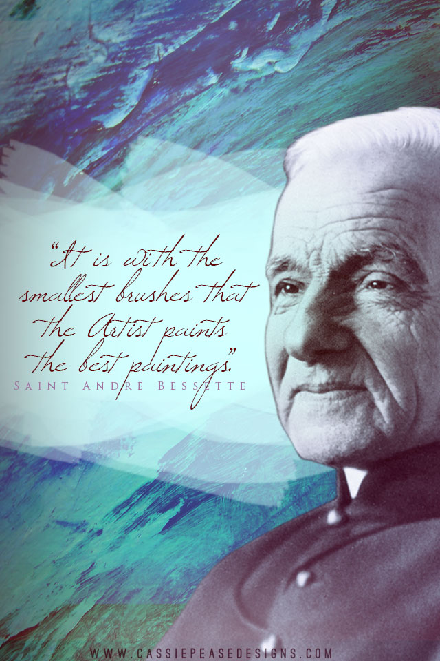 St. André Bessette Mobile Wallpaper