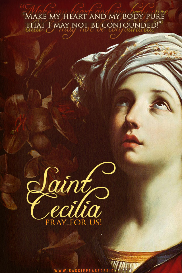 St. Cecilia Mobile Wallpaper