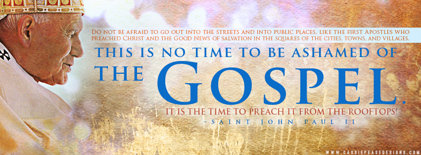 "JPII ""Gospel"" Coverphoto"