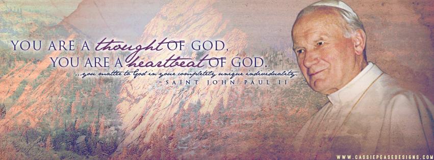 "JPII ""Heartbeat of God"" Coverphoto"