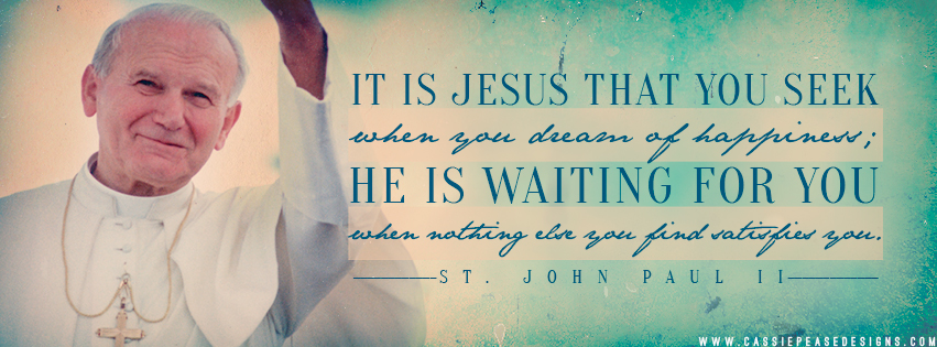 "JPII ""Seeking Jesus"" Coverphoto"