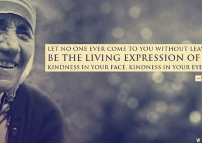 "Mother Teresa ""Expression of Kindness"" Coverphoto"