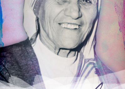 "Mother Teresa ""Smile"" Mobile Wallpaper"