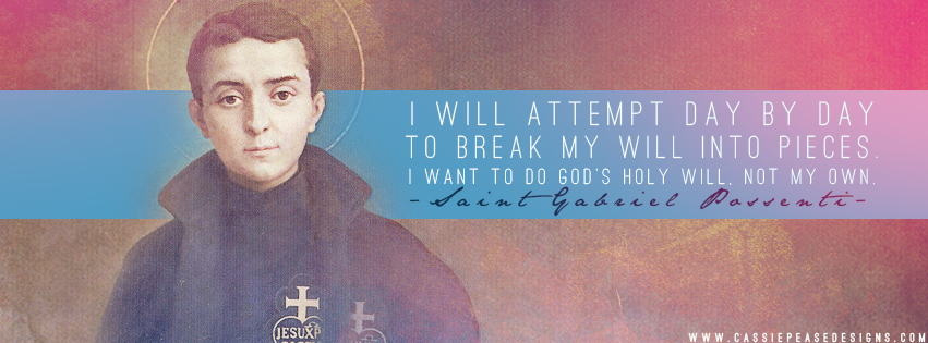 Featured Saint: St. Gabriel Possenti