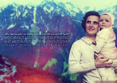 St. Gianna Molla Desktop Wallpaper