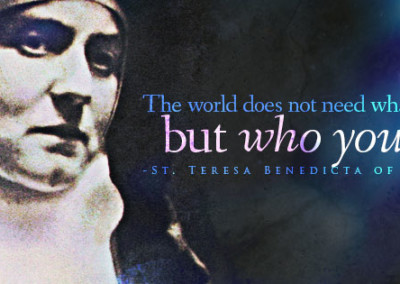 St. Teresa Benedicta of the Cross (Edith Stein) Coverphoto