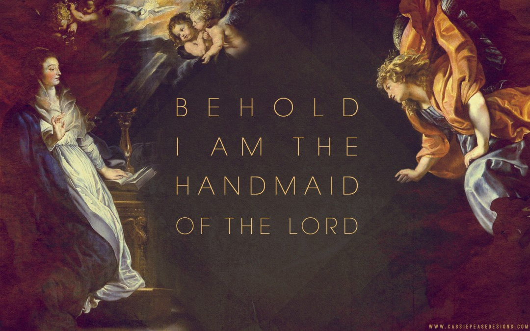 Annunciation Desktop Wallpaper
