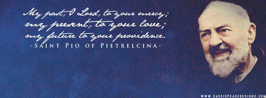Padre Pio (blue) Coverphoto