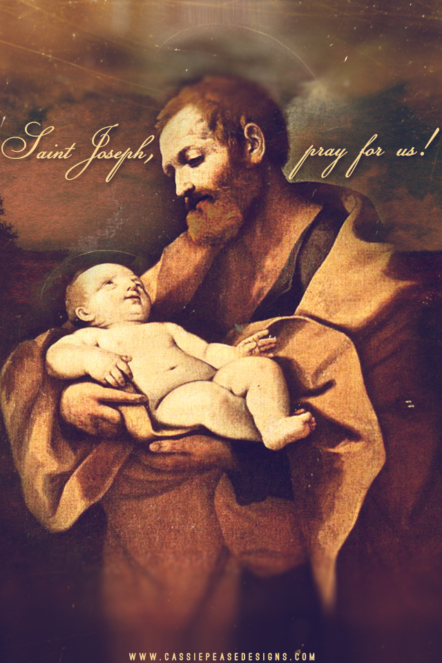Saint Joseph Mobile Wallpaper