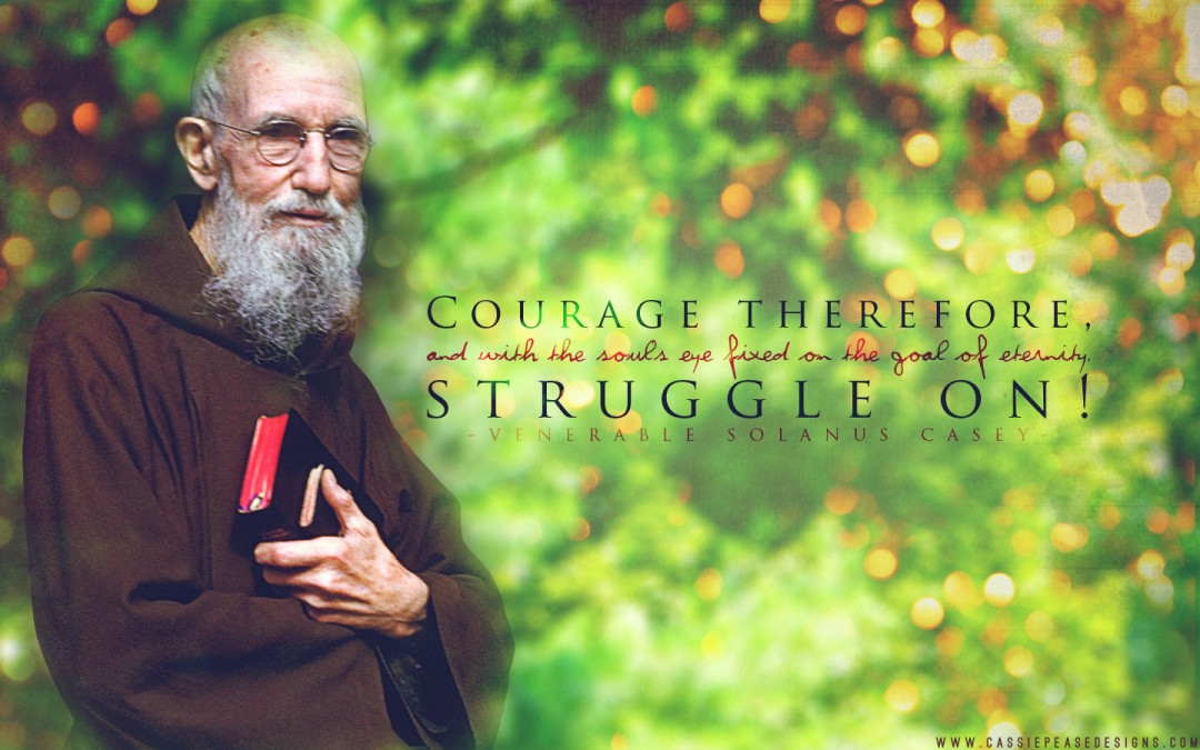 Venerable Solanus Casey Desktop Wallpaper