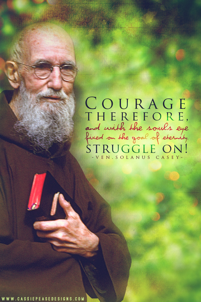Venerable Solanus Casey Mobile Wallpaper