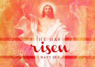 He Has Risen Coverphoto