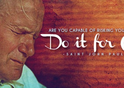 "St. JPII ""Do it for Christ!"" Coverphoto"