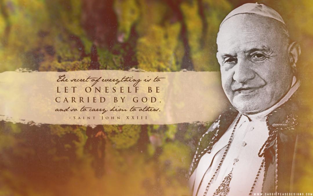 St John XXIII Desktop Wallpaper