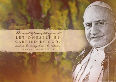 St John XXIII Desktop Wallpaper