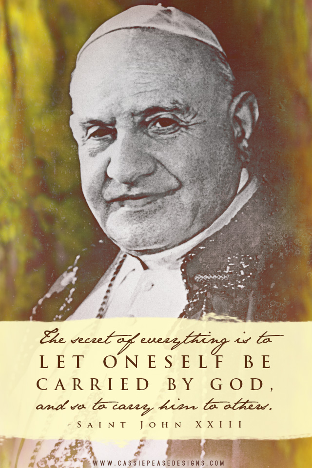 St John XXIII Mobile Wallpaper