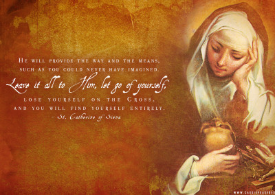 St. Catherine of Siena Desktop Wallpaper