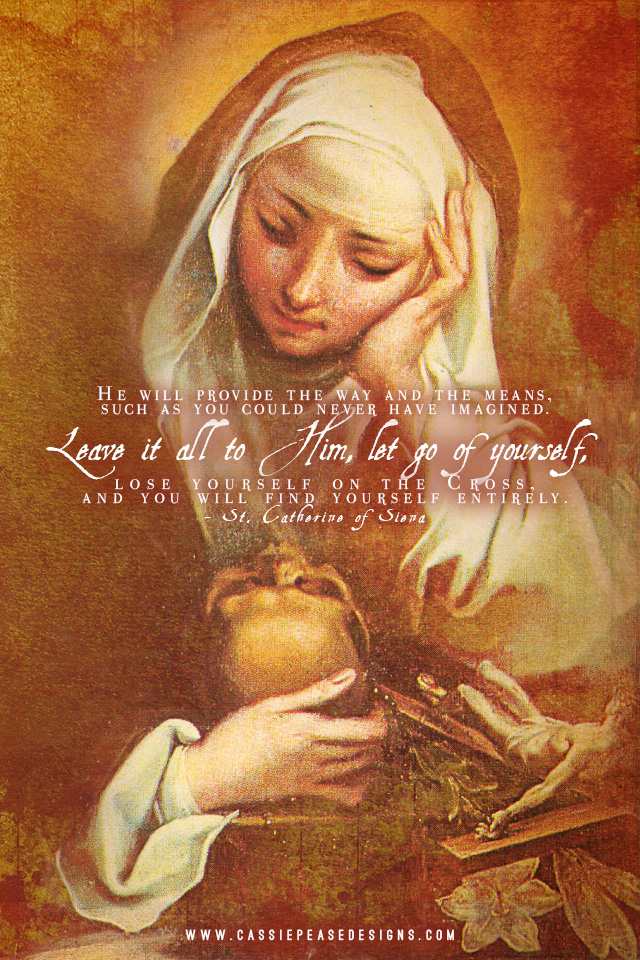 St. Catherine of Siena Mobile Wallpaper