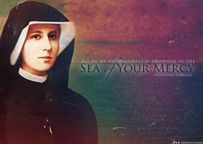 Saint Faustina Desktop Wallpaper