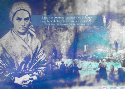 St. Bernadette Desktop Wallpaper