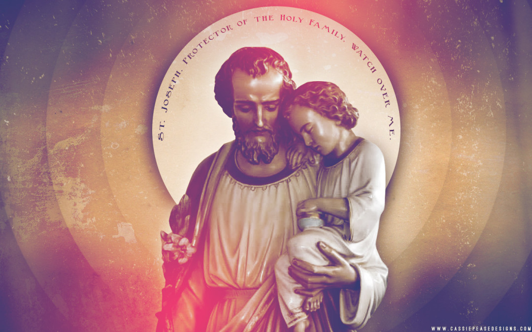 Saint Joseph Protector Desktop Wallpaper