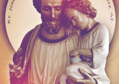 Saint Joseph Protector Mobile Wallpaper