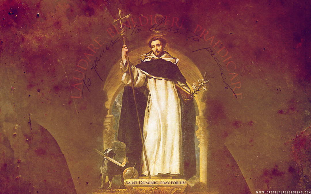 Saint Dominic Desktop Wallpaper