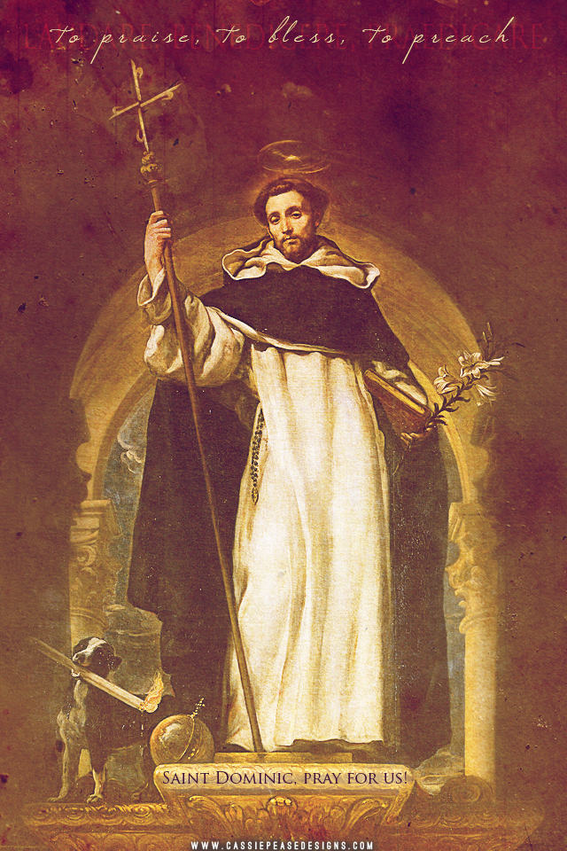 Saint Dominic Mobile Wallpaper