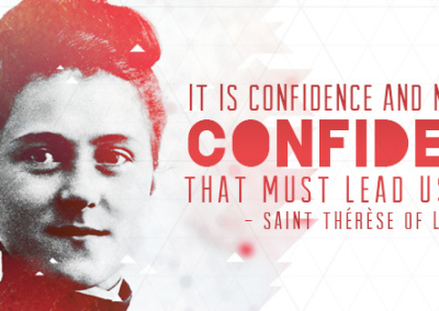 "St. Therese ""Confidence"" Coverphoto"